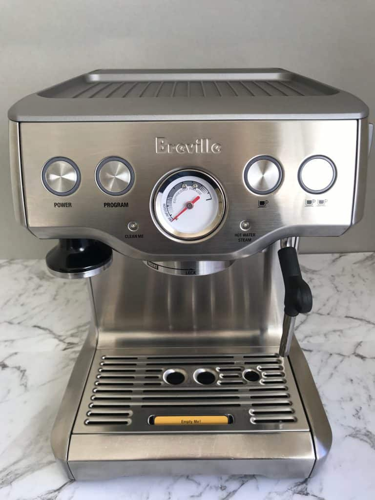 Empty Me on Breville infuser