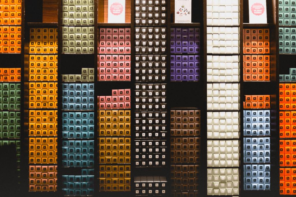 Nespresso pods at a shop