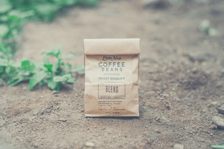 photo of freshly roasted artisian coffee beans