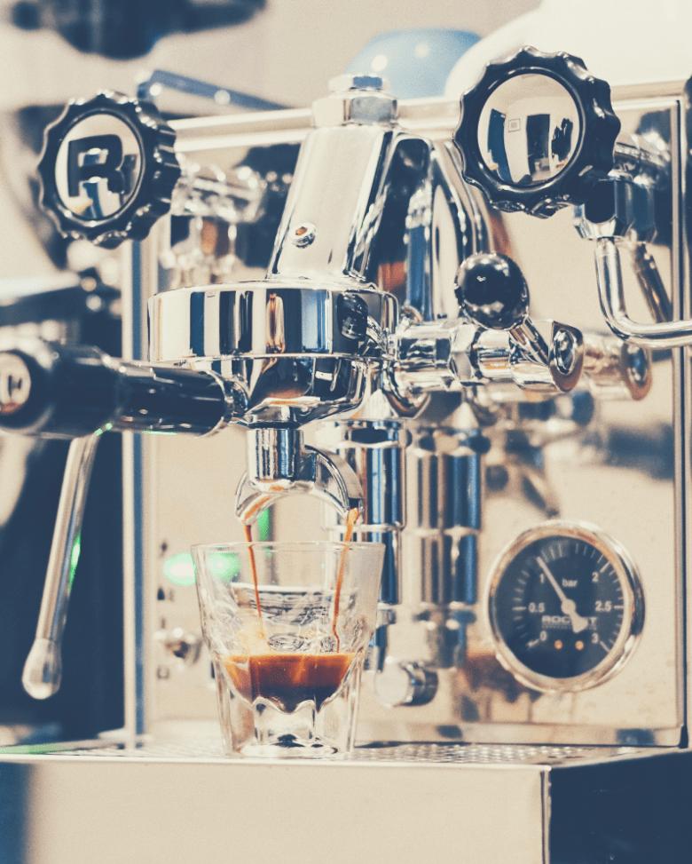 A Manual Espresso Machine