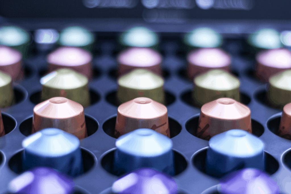 Photo of Nespresso capsules