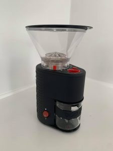Side profile of Bodum Grinder
