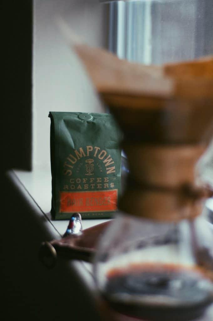 Stumptown coffee with chemex