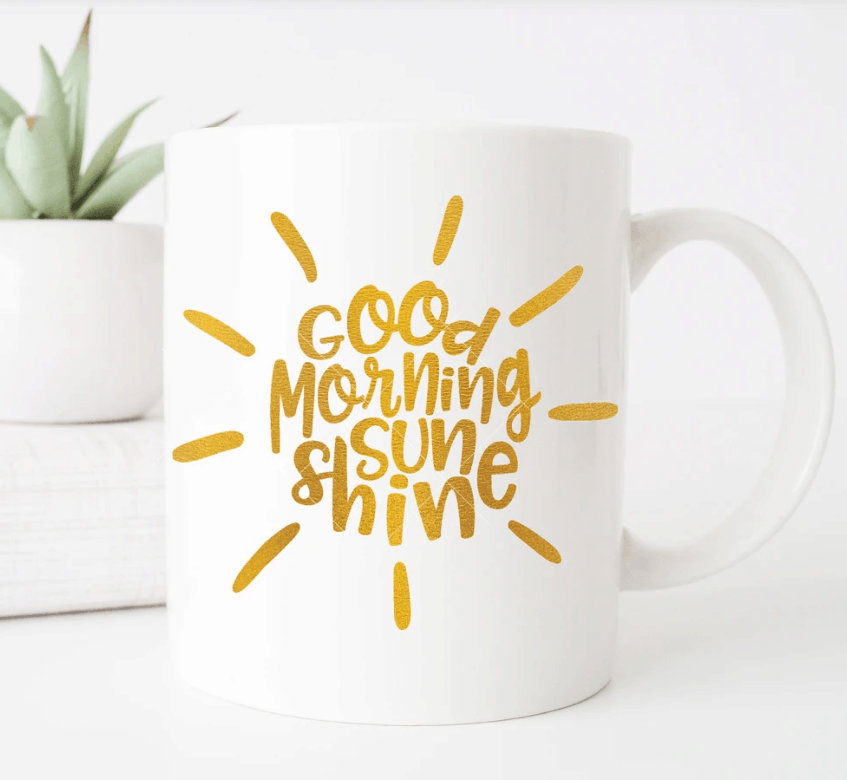 Good Morning Sunshine SVG