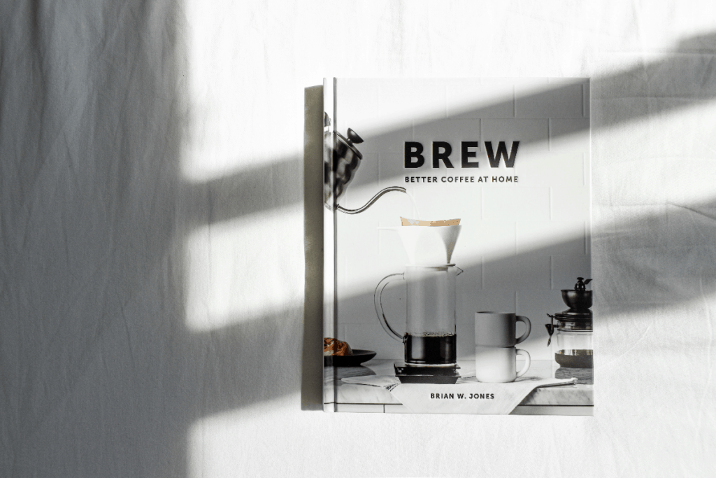 Photo of coffee book