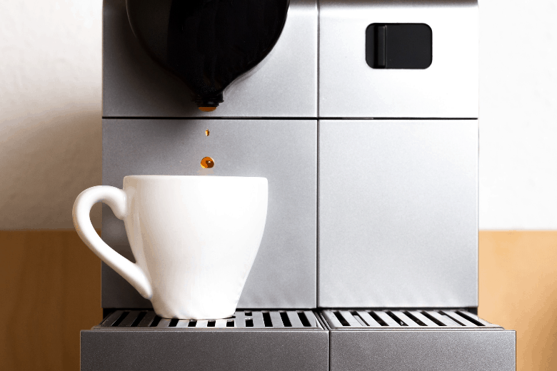Minimalistic design of Nespresso machines