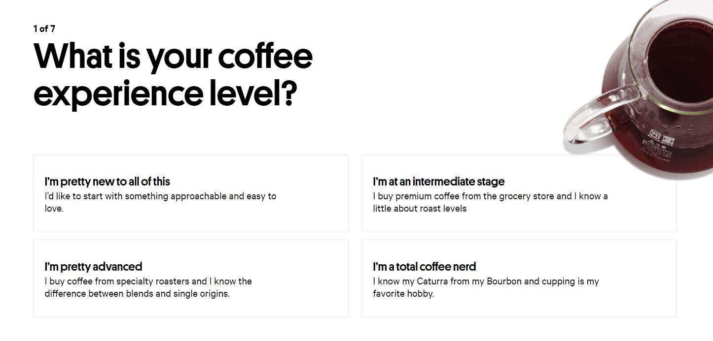 Trade Coffee Quiz