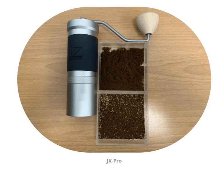 1Zpresso JX Pro Grind consistency