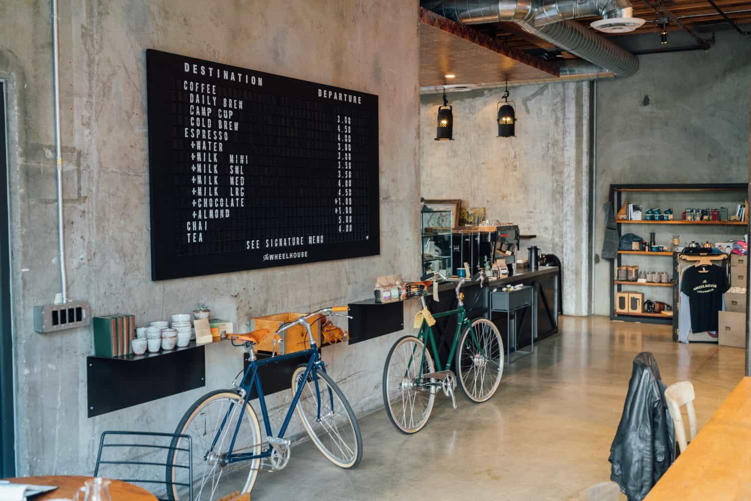 Specialty coffee cafe